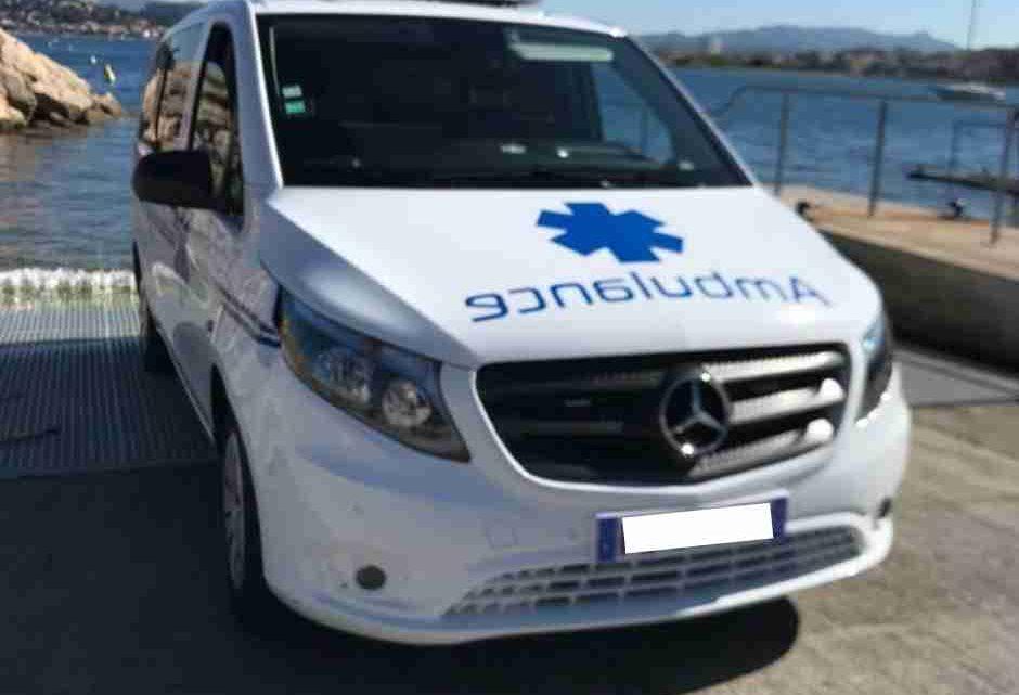 Ambulance Marseille 13008