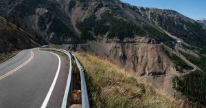 route de Beartooth au Montana